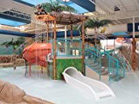 Four Indoor Waterpark Passes with Included Hotel Stay