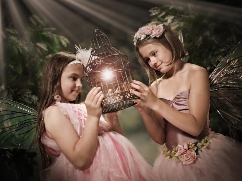 Kids' Fantasy Photo Shoot