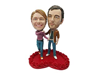 Bobble Head Doll for Individual or Couple