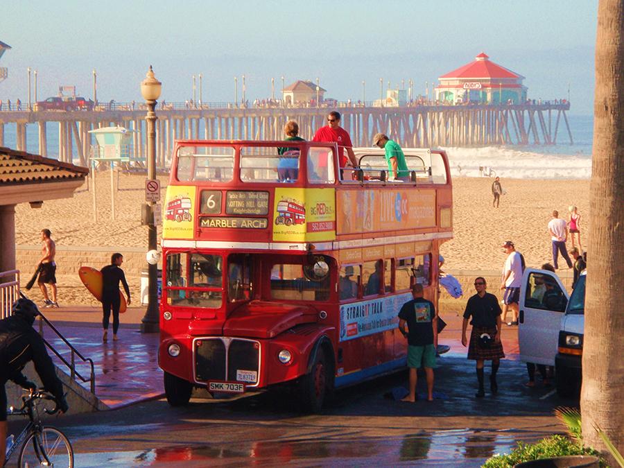 Pub Tour on a Double-Decker Bus