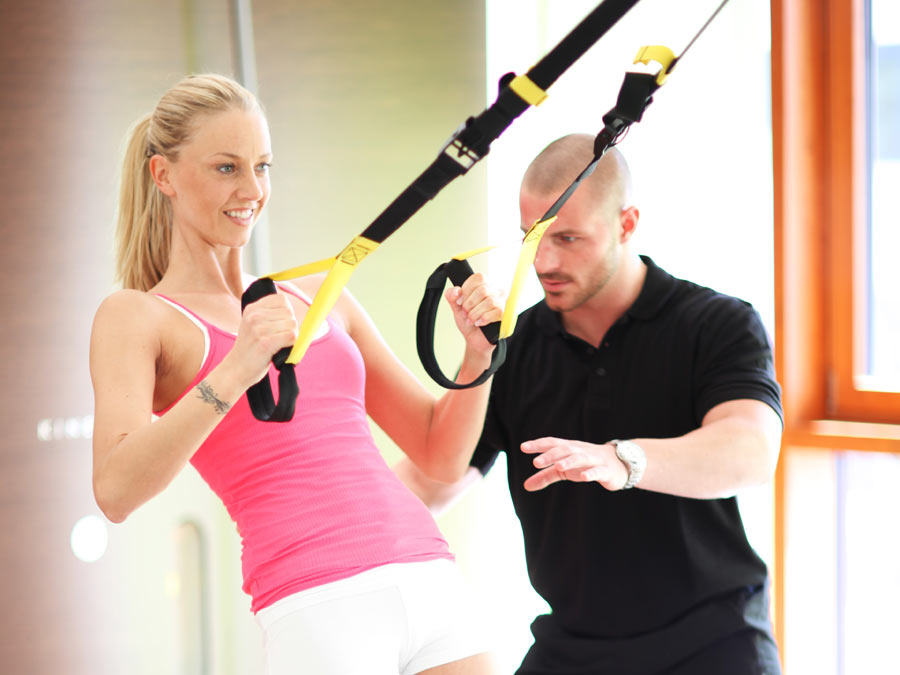 Three Personal Training Sessions with Assessment and More