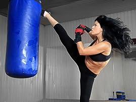 Five or Ten Fitness Kickboxing Classes