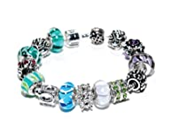 Custom IRIS® Charm Bracelet with Personalized Choice of Beads and Charms