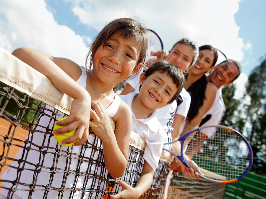 Four Group Tennis Lessons