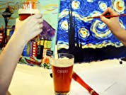 Painting and Pints Class: Admission for One or Two