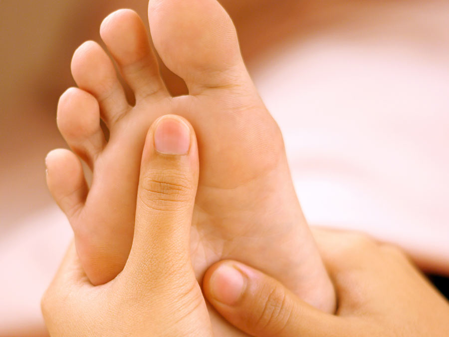 Reflexology Session from Meridian Reflexology