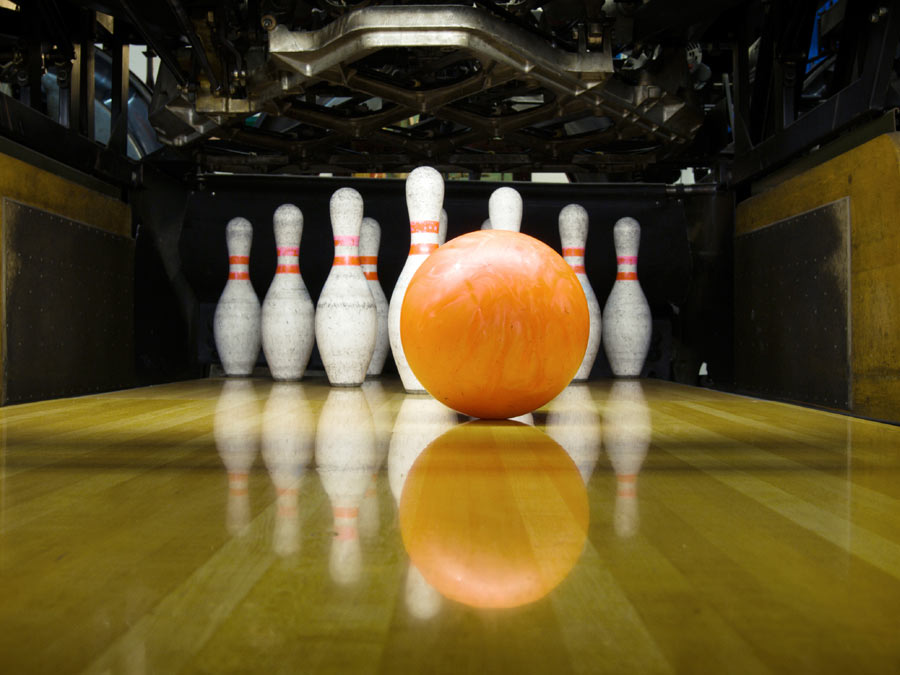 Bowling for up to Six with Shoe Rentals and Snacks