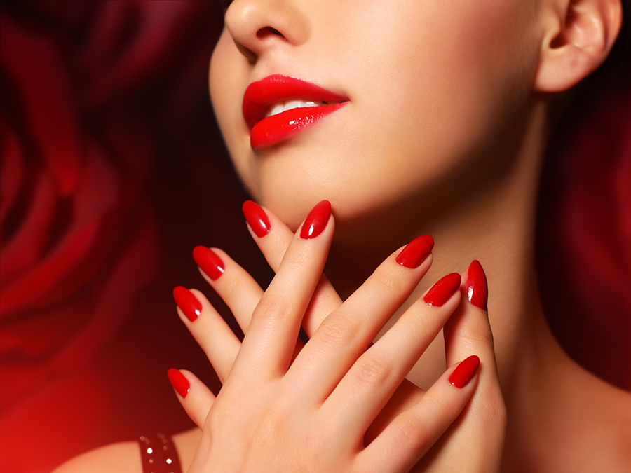Gel Manicure or Gel Manicure and Spa Pedicure