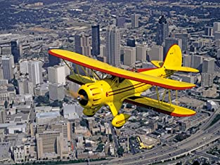 Scenic Biplane Tour in Restored 1930s Aircraft