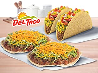 Coupon for Buy-One-Get-One-Free Turkey Taco or Turkey CrunchTada Tostada at Del Taco®
