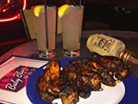 Kegged Moonshine Cocktails and Smoked Wings at Baby Blues BBQ
