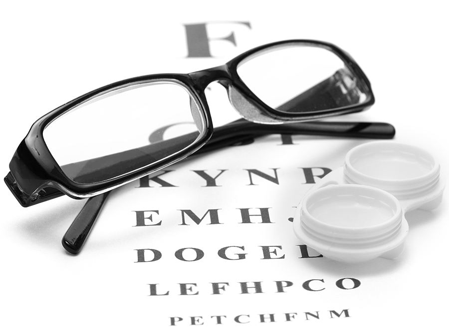 Glasses or Contacts from Sterling Optical