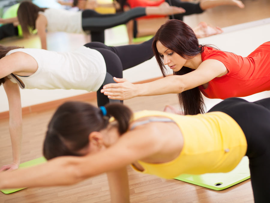 Ten Classes of Yoga or Pilates
