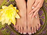 Spa Pedicure at House of Trendz