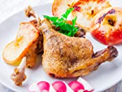 Four or Eight Seafood and Poultry or Vegetarian Meals with Delivery