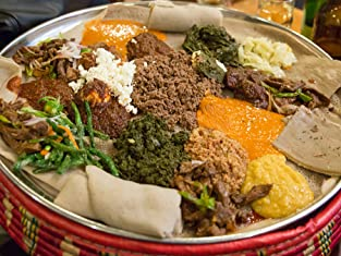 Dinner at Abyssinia Ethiopian Restaurant