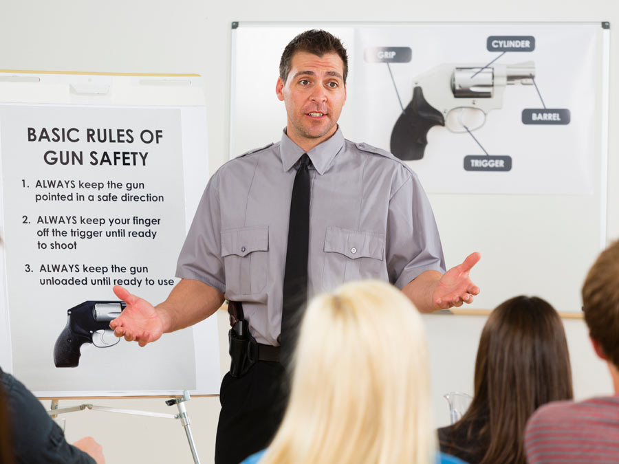 Gun-Handling Training and Gun Law Education with Certificates