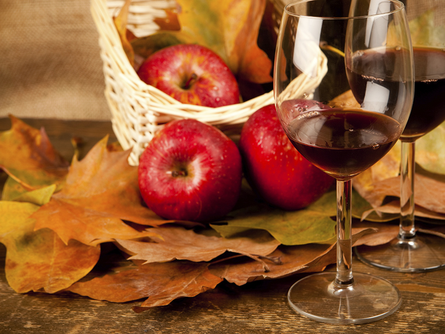 Как сделать вино на яблоках