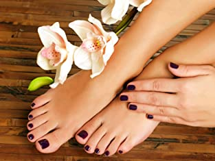 Spa Manicure or Pedicure