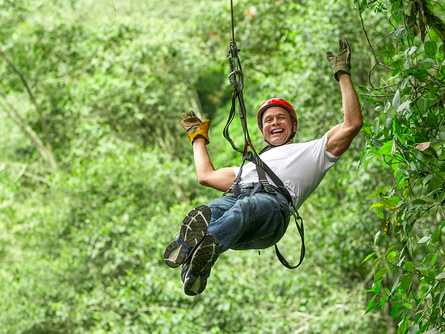Zip-Lining and Rappelling Adventure
