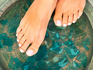 30-Minute Ionic Foot Bath or Body Scrub
