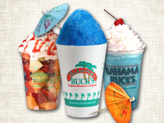 $10 to Spend or Party Pack at Bahama Buck's