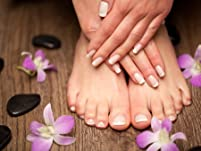 Book Now: Spa Manicure and Pedicure