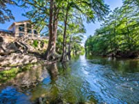 Scenic Frio River Hill Country Cabin Stay for Two Nights