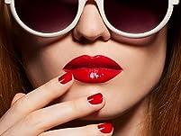 Gel Manicure and Regular Pedicure