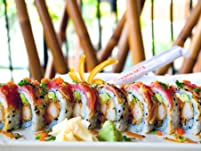 $40 to Spend on Sushi and Asian Fare