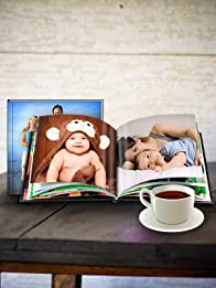 Custom Hardcover Leather Photo Book with Free Shipping