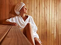 Foot Bath, Infrared Sauna, and Thermal Massage