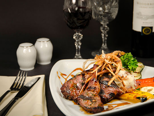 Dinner for Two or Four at Pavilion Restaurant