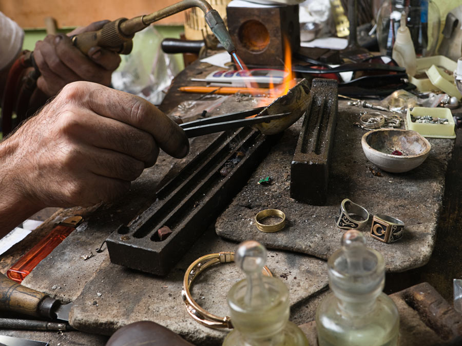 Metal or Stone-Sculpting Class