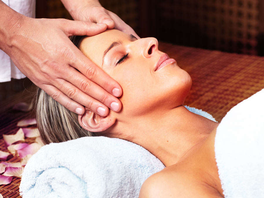 Massage with Hot Towels, Aromatherapy, and More