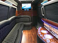 Mercedes Party Bus Rental for Ten People