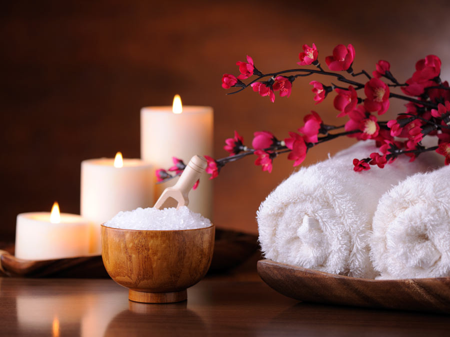 Massage with Back Wax or Sea Salt Treatment