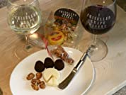 Wine Tasting with Box of Truffles, Cheese, and More