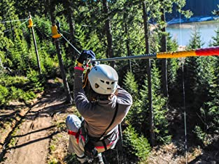 Zip Lining, Tubing, or Daredevil Package