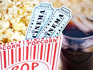 Movie Tickets and Popcorn for Two or Four