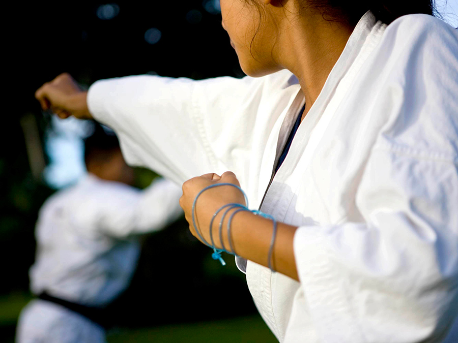 Karate Classes with Uniform