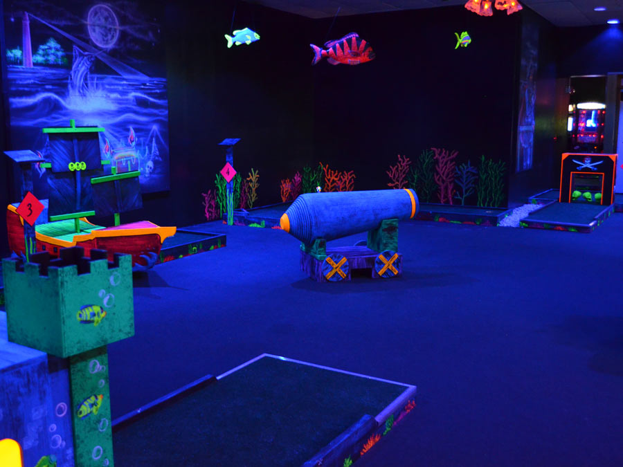 Mini Golf and Laser Tag Package