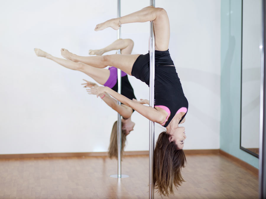 Five Pole-Dancing Fitness Classes