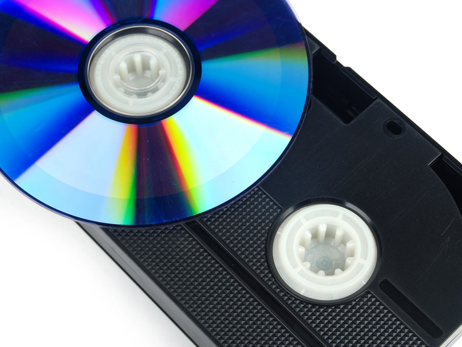 Video-to-DVD or Tape-to-CD Transfers