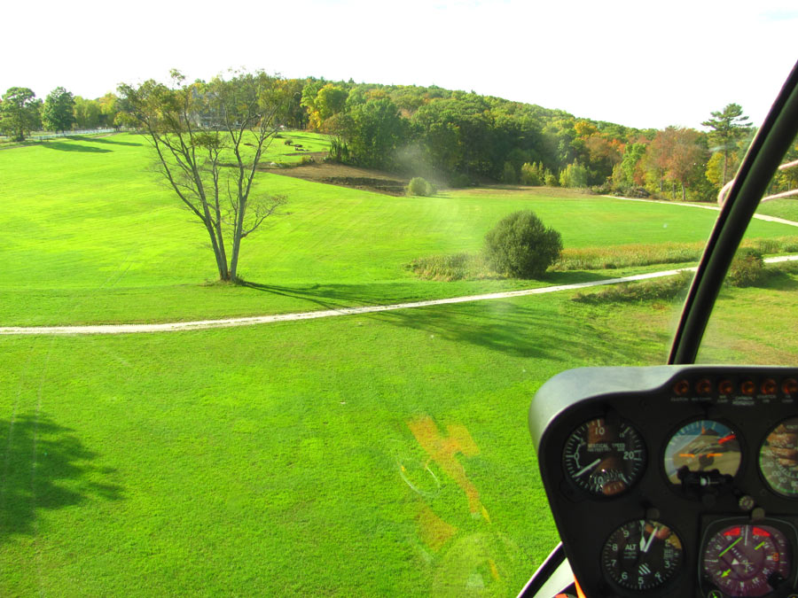 Introductory Helicopter Flight Lesson with Video