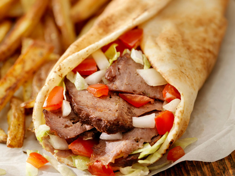 Two Meals at Sam's Kebab & Gyros