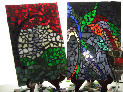Three-Hour Stained Glass Mosaic Art Class