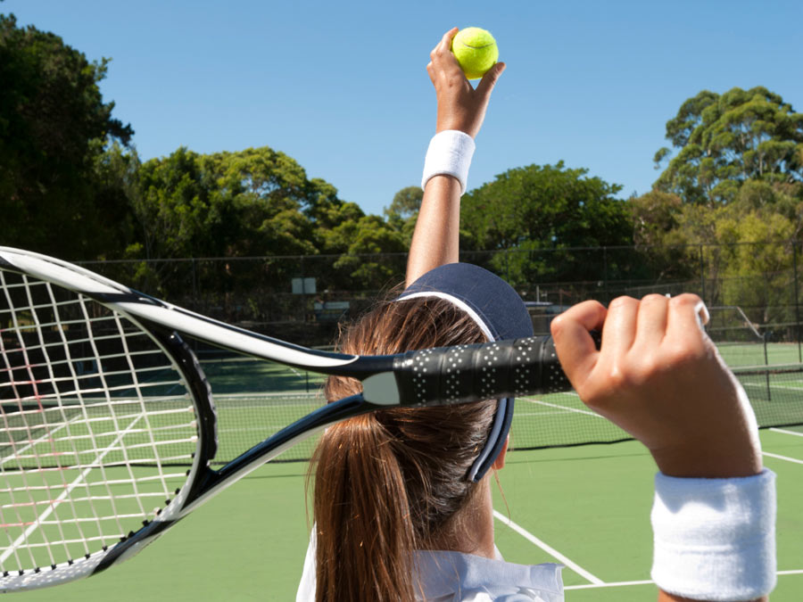 Three One-Hour Adult Tennis Lessons