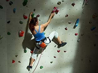 All-Day Admission for Indoor Rock Climbing