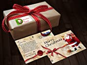 Personalized Holiday Postcard or Gift Labels